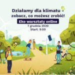 Działamy dla klimatu – eko warsztaty online